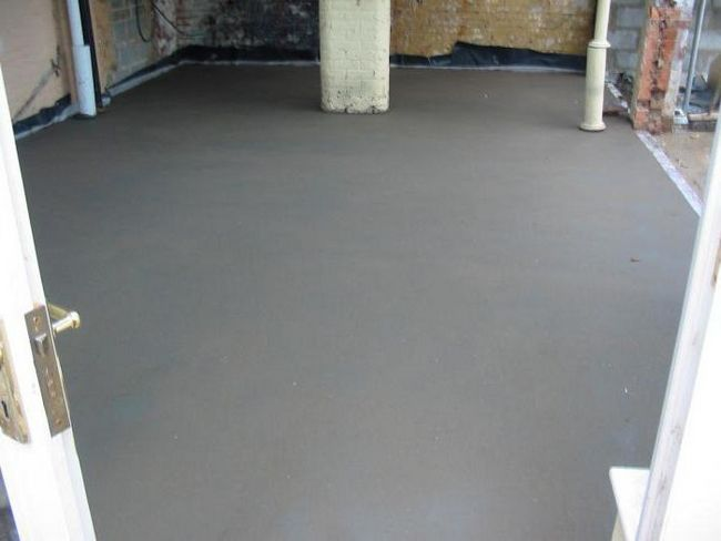 скільки сохне бетонна стяжка