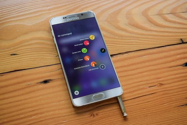 смартфон samsung galaxy note 5 фото