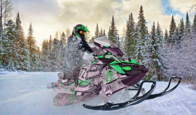 снігохід тайга 550