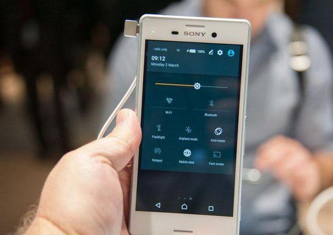 смартфон соні м4 аква відгуки