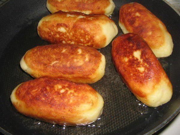 сосиска в картопляної шубці з сиром