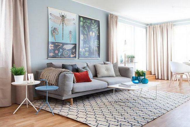 Фото - Створюємо незабутній інтер'єр квартири в світлих тонах