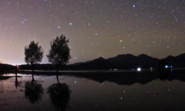 сузір'я Великої Ведмедиці і малої ведмедиці