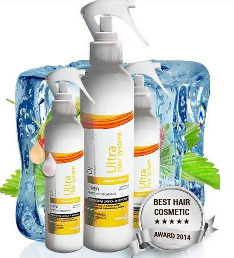 Фото - Спрей для волосся Hair Ultra System: відгуки, фото, застосування. Крем, масло для волосся Ultra Hair System: відгуки покупців