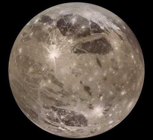 Фото - Супутник Ганімед. Ганімед - супутник Юпітера