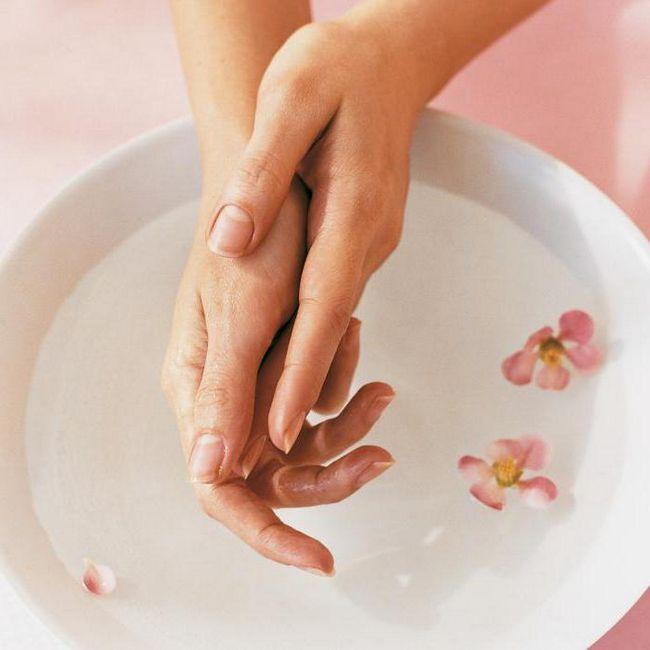 домашні ванночки для нігтів