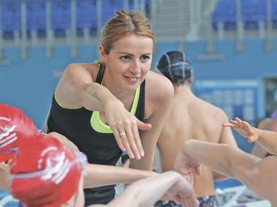 Фото - Станіслава Комарова: біографія та фото. Школа плавання Станіслави Комарової