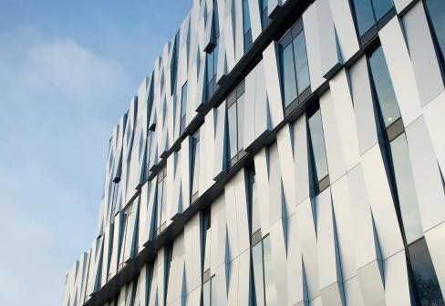 металеві фасадні панелі