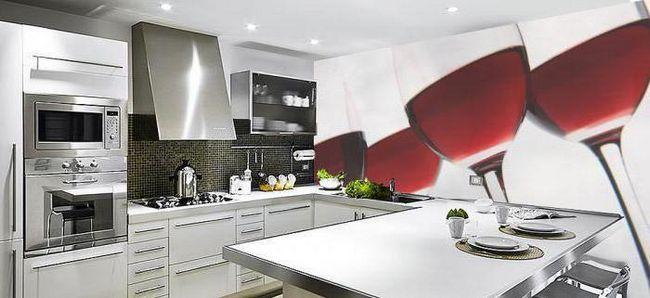 Фото - Стіни на кухні: ідеї оформлення