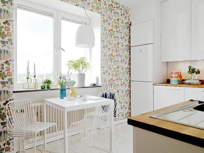 ідеї декору стін кухні