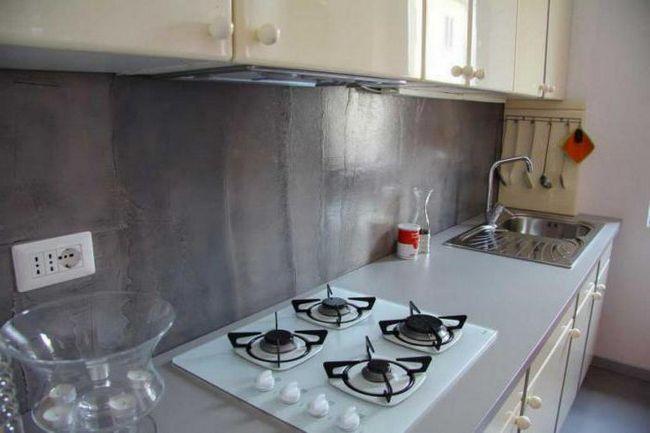 ідеї оформлення стін кухні