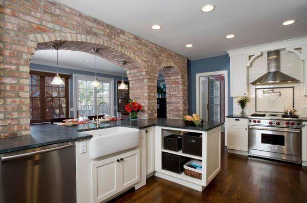ідеї оздоблення стін на кухні