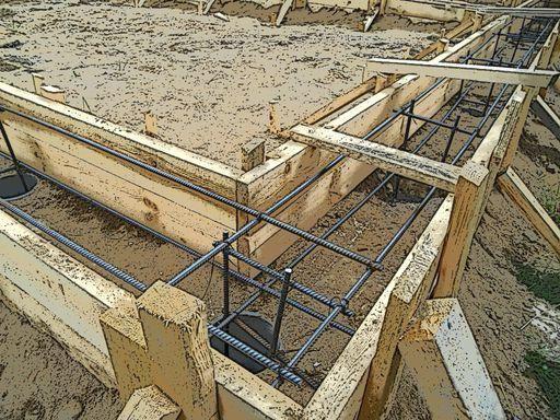 столбчато стрічковий фундамент покрокова інструкція