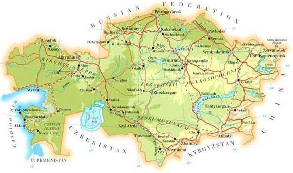16 країн з якими межує росія