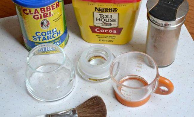 як зробити сухий шампунь в домашніх умовах