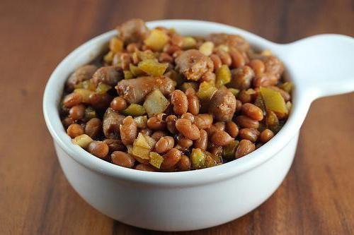 рецепти приготування бобів квасолі