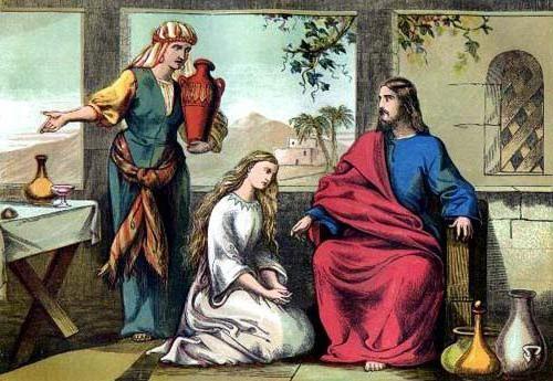 христос у Марфи та Марії