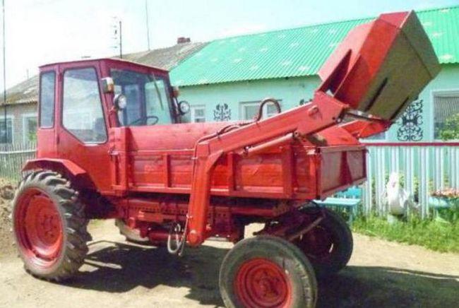 трактор т 16 навантажувач