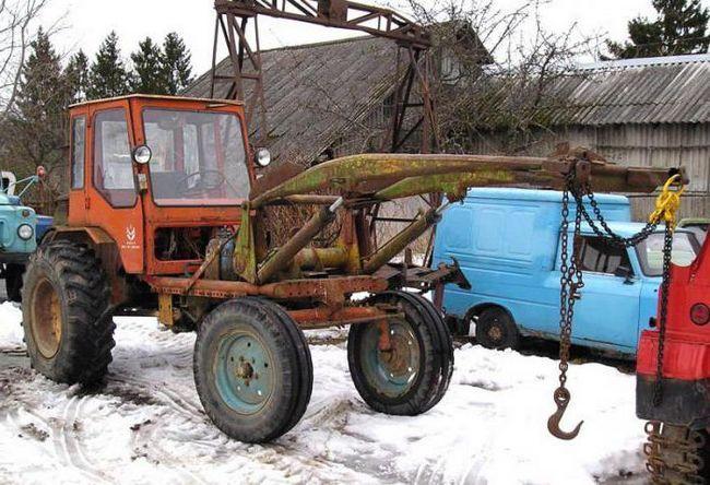 характеристика трактора т 16