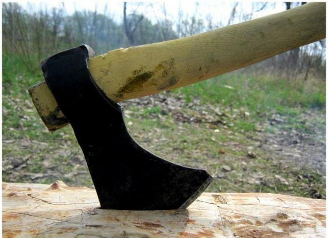 Фото - Тайговий сокиру: креслення. Сокира тайговий кований