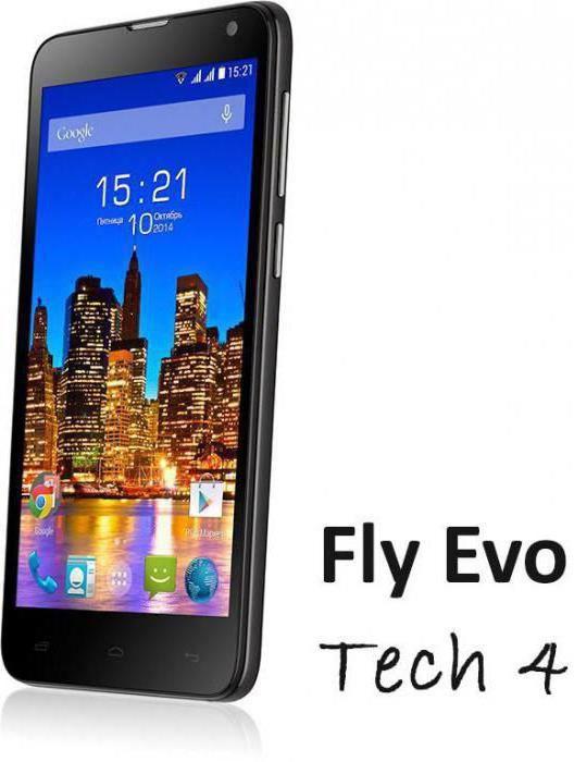 смартфон fly evo tech 4