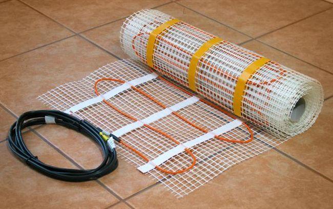 Фото - Тепла підлога: мати під плитку. Технологія монтажу теплої підлоги