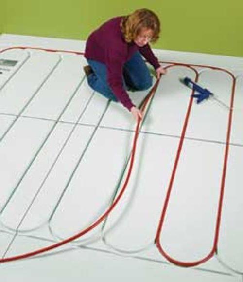 мати для укладання водяної теплої підлоги