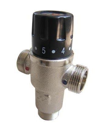 кран терморегулятор на радіатор опалення