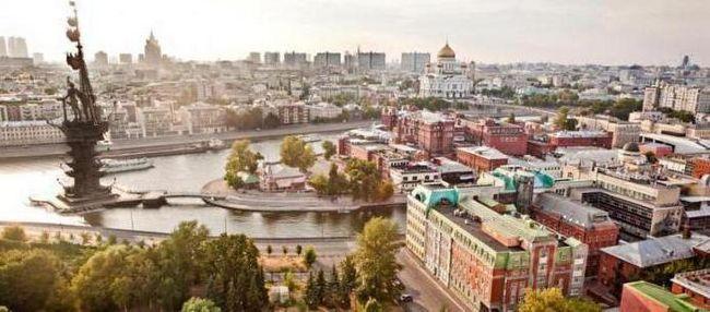 Фото - Територія Москви: адміністративні округи та райони