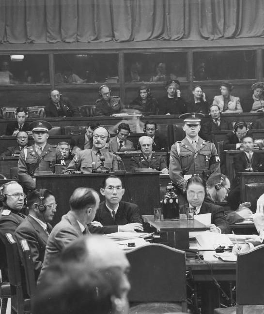 нюрнберзький і токійський процеси над військовими злочинцями