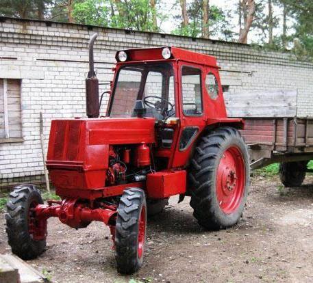 ремонт трактора ЛТЗ 55