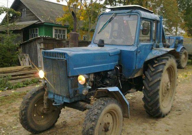 трактор мтз 80 технічні характеристики