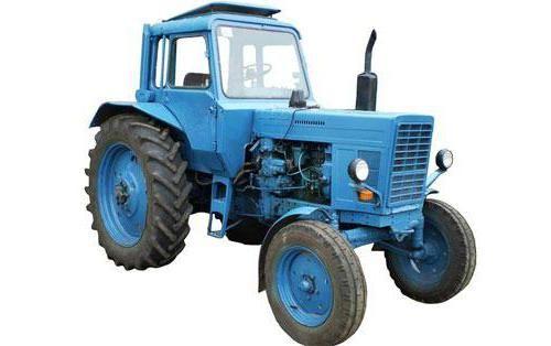 загальні технічні характеристики тракторів мтз 80 і мтз 82