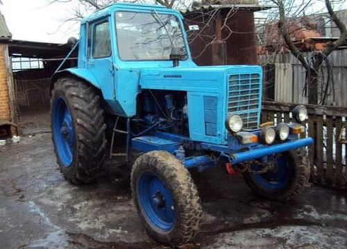 трактор МТЗ 80 Беларус 80 технічні характеристики опис