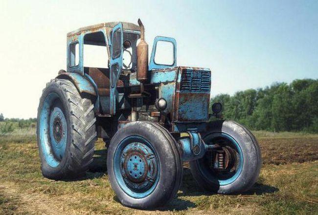трактор т 40 м технічні характеристики