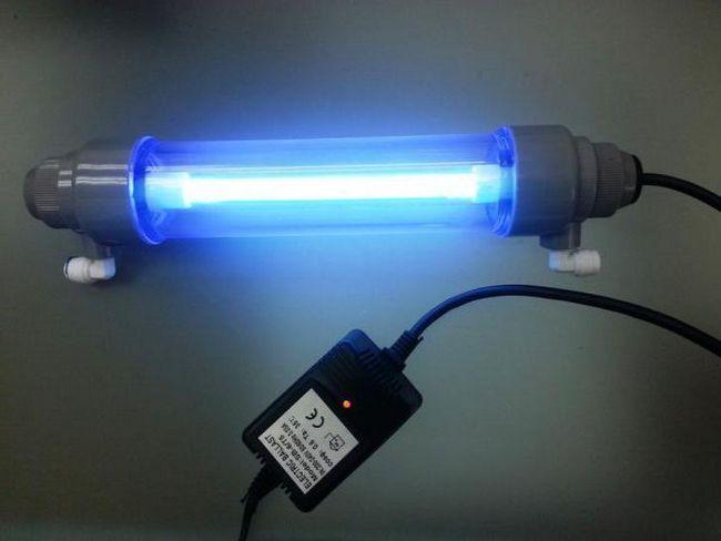 Ультрафіолетова домашня лампа