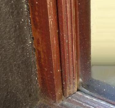 ущільнювач для дерев'яних вікон гумовий