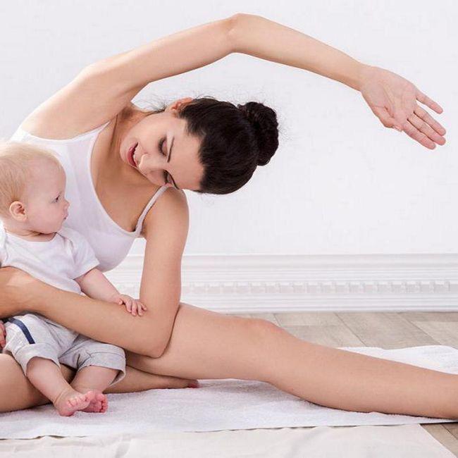 Фото - Вправи для живота після пологів. Вправи для підтяжки живота після пологів годує мамі