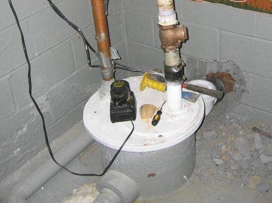 фекальний насос для відкачування каналізації