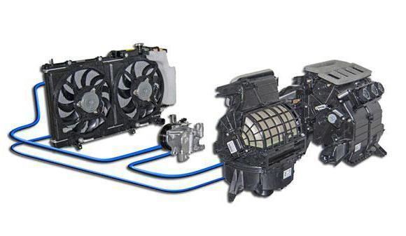 компресор кондиціонера автомобіля принцип роботи