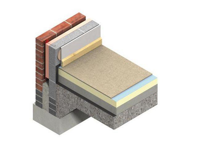 утеплювач для підлоги по бетону фото