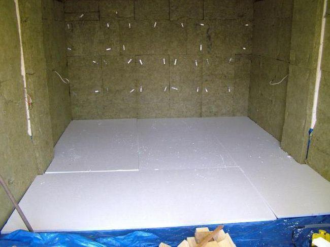 Піноплекс для підлоги під стяжку