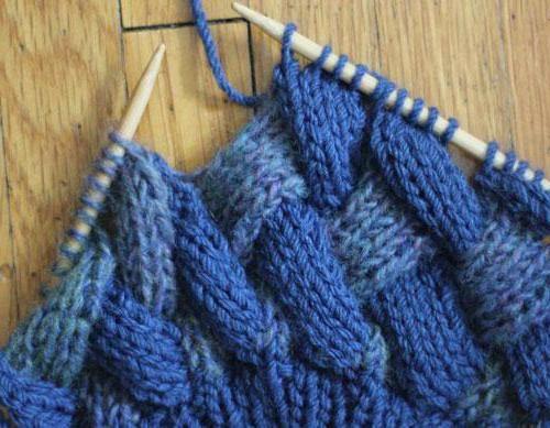 візерунок плетінка спицями з описом