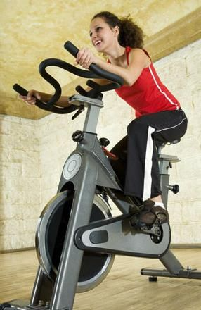 тренування на велотренажері