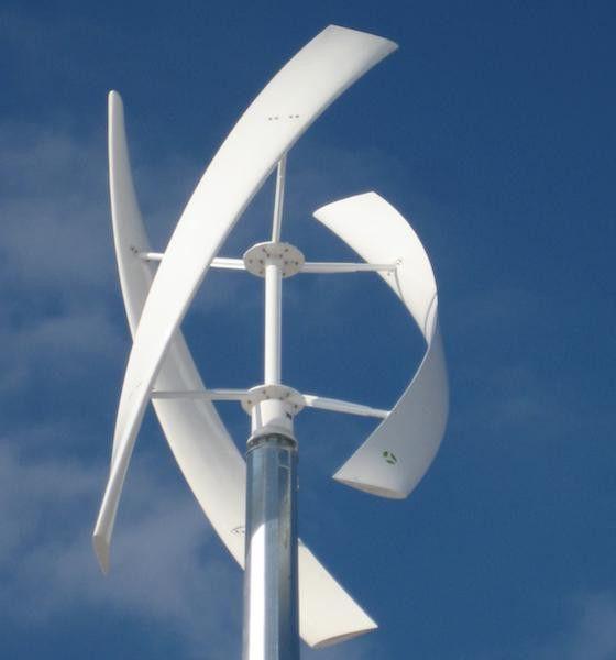 Фото - Вертикальний вітряк своїми руками (5 кВт)