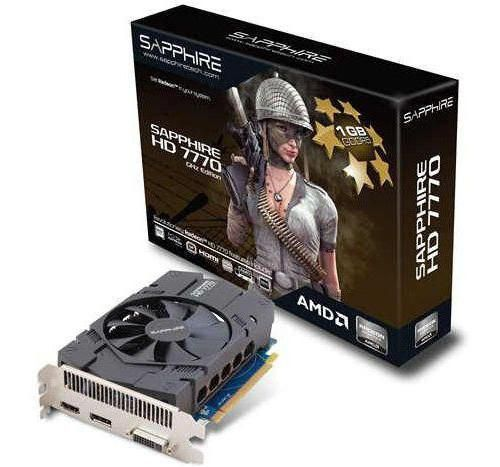 Radeon HD 7770 характеристики