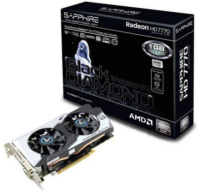Radeon 7770 характеристики