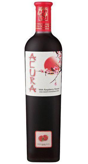 вино акура малинове