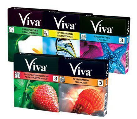 Фото - Viva. Презерватив: види, розміри, особливості