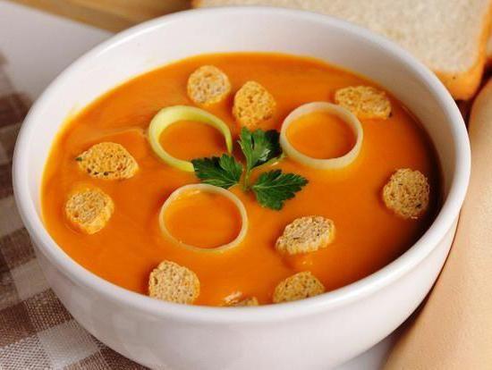 Суп з гарбуза дієтичний рецепт